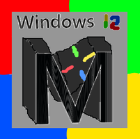 Suggestion For Windows 12's Potential Logo (2019) by TheSkull31