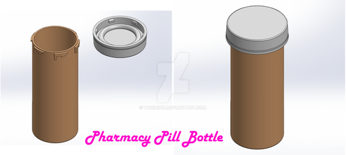 Pharmacy Pill Bottle by tonimich