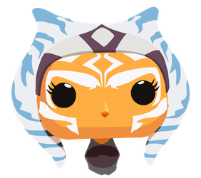 Ahsoka Pop! (I really want one of these) by shineytrooper