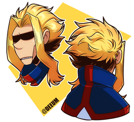 MHA - All Might by deeum