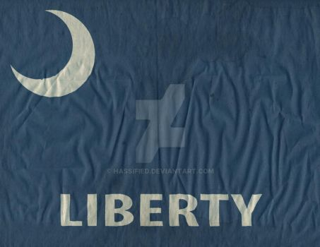 Fort Moultrie Liberty Flag by hassified