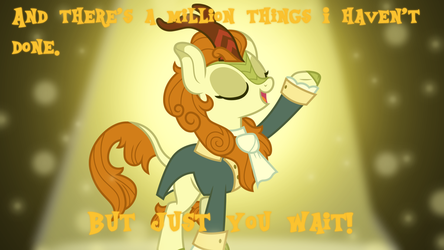 Autumn Blaze Hamilton Wallpaper by SailorTrekkie92