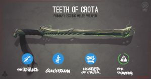 Teeth Of Crota by Bing0ne