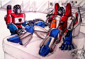 Me and Perceptor by IggySeymour