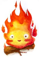 ~Calcifer by MonikaKryza