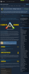 Steam Community Guide - Ark: Survival Evolved by 3xhumed