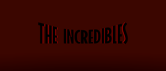 The Incredibles Title Card Remake by Aidanart25