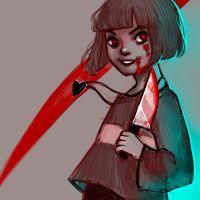 Undertale - Chara by AntheiaVaulor