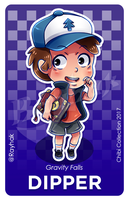 Dipper Pines [Chibi Collection] by Rayhak
