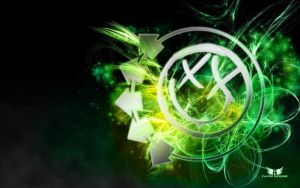 Blink-182 Smiley Tangy Green by TWe4k