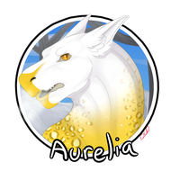 [CP] Aurelia: Headshot for WhimsicalCrystal by WoollyWolfie