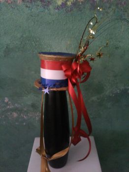 4th of July mini top hat by avrilfan1316