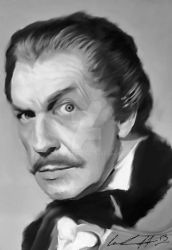 Vincent Price by drewdk