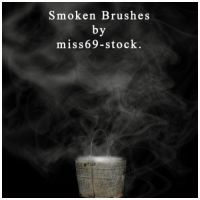 Smoken Brushes.. :D by miss69-stock