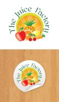 the juice factory logo by anca-v