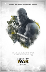 Avengers: Infinity War Poster (FAN MADE) by TLDesignn