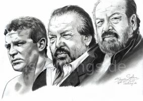 Bud Spencer Through The Years by visualwings