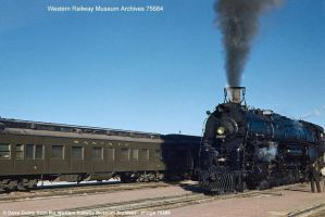 Atchison  Topeka And Santa Fe #2908 by edjack14
