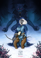 TES - Snow and Blood by mamoonart