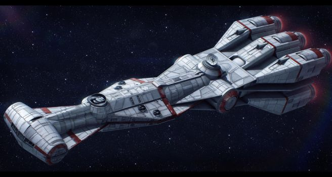 CEC CR95 Corellian Corvette by Shoguneagle