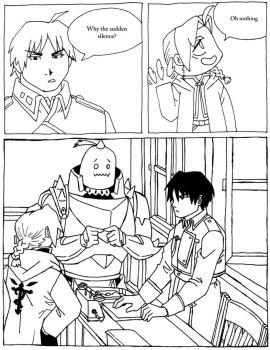 FMA The Abducted Alchemist project page 29 BW by hope30789