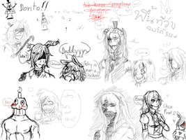 Pixiv Chat: When i'm bored. by Ask-Human-Springtrap