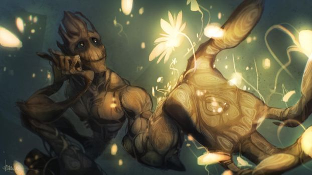 'I am Groot' by LONelloid