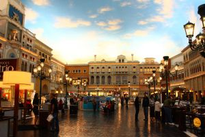 Town square by CAStock