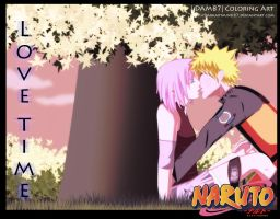 Love time Naruto X Sakura by Darkartmind87
