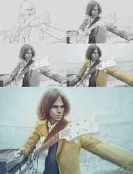 Neil Young process by John-Indian