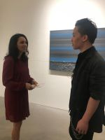 Michael Andrew Law meet with Teresita Fernandez by michaelandrewlaw