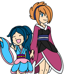 Kimonos by VeronicaPrower