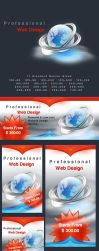 Free Web Design Banner Ads by isfahangraphic