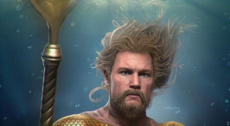 I2: Aquaman  (Close-up) by AnubisDHL