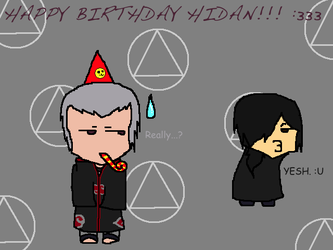 Happy Birthday Hidan! 2013 by CongotehJackal