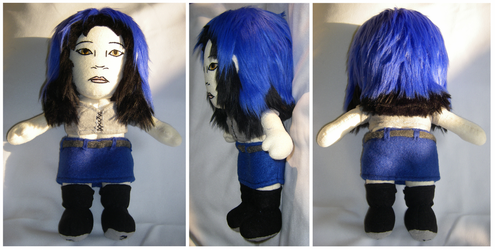 Violet Plush by S2Plushies