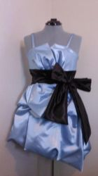 Homecoming  Dress and Sash by SpasticalSyndrome