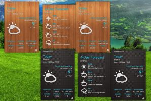 Elegant Weather v3 for xwidget by Jimking