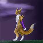 A graceful fox by dragonfire1000