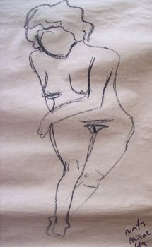Nude drawing 2 by Lady-of-the-Cats