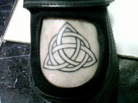 Triquetra Tattoo by theangellilith
