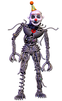 Ennard Transparent Render by Lord-Kaine