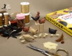 WIP Miniature 1:12 Chicken sculptures by Pajutee