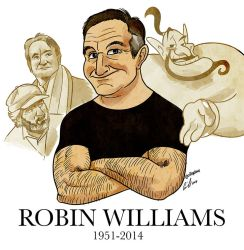 Robin Williams by SupaCrikeyDave