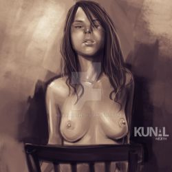Artistic nude by Kunalnath