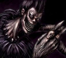 Ryuk from Death Note by HoneyBunny-Art