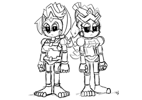 COMM Roboticized Queens by ViralJP