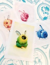 New Fuzzy Bees by camilladerrico