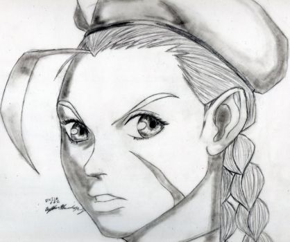 Cammy white close up by Exile-062
