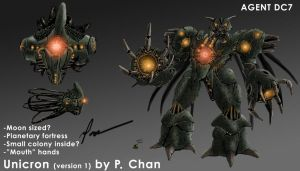 Transformers movie - Unicron 1 by agentdc7